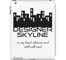 Designer Skyline iPad Case/Skin