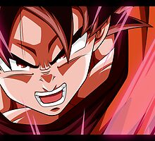 Dragonball Z - Kaioken. by Tom Skender