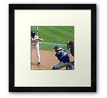 baseball world cup championship Framed Print