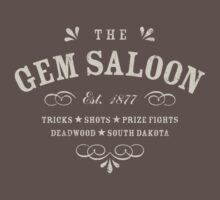 The Gem Saloon, Deadwood by heavyhand