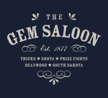 The Gem Saloon, Deadwood One Piece - Long Sleeve