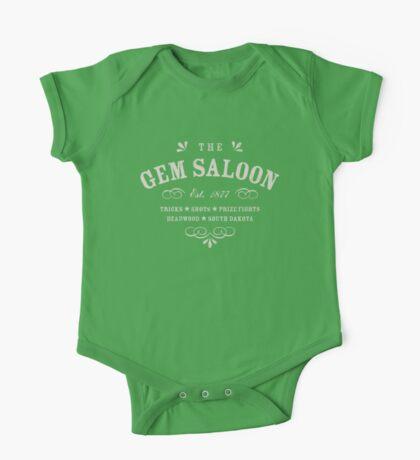The Gem Saloon, Deadwood One Piece - Short Sleeve