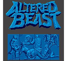 ALTERED BEAST Photographic Print
