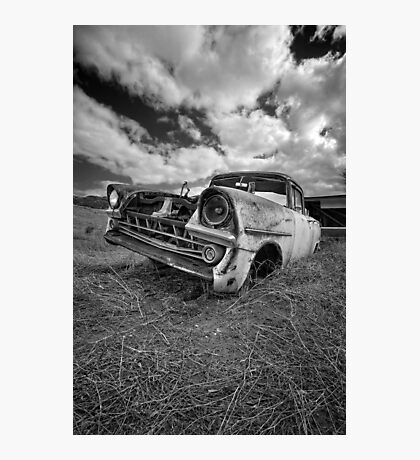 Car Graveyard - Morgan, SA Photographic Print
