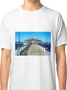 Redcliffe Pier, Queensland Classic T-Shirt
