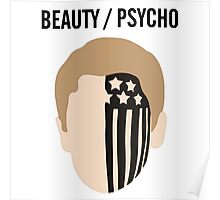 BEAUTY / PSYCHO Poster
