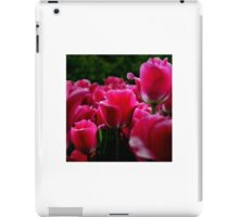 pink beautiful smell flowers iPad Case/Skin