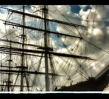 Cutty Sark 'ghosts' by ellesmerecollec