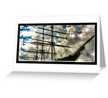 Cutty Sark 'ghosts' Greeting Card