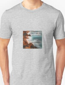 beautiful rocky water hills Unisex T-Shirt