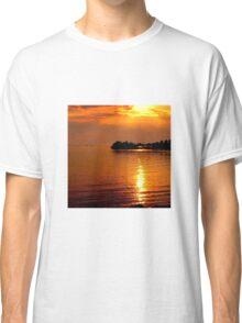 beautiful natural summer sunset Classic T-Shirt