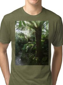 Tropical flavour at Heligan Tri-blend T-Shirt