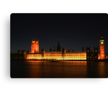 Houses of Parliament Canvas Print