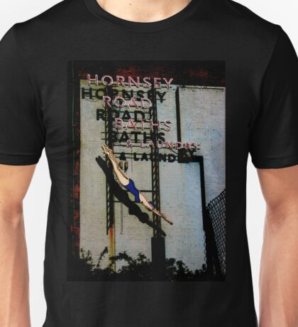 Hornsey Road Baths & Laundry neon Unisex T-Shirt