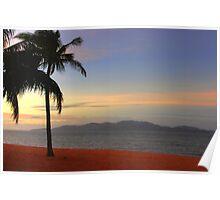 Strand Sunset-HDR Poster