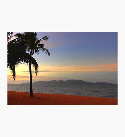 Strand Sunset-HDR Photographic Print