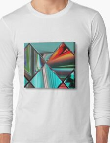 beautiful colored stunning artwork Long Sleeve T-Shirt