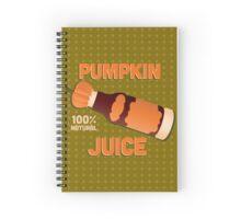Pumpkin Juice - Harry Potter Spiral Notebook