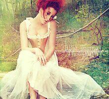 Fairytale - White #1 by Julia  Thomas