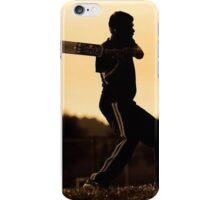 cricket bat training for championship iPhone Case/Skin