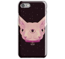 Two-Faced Sphynx From Outer Space iPhone Case/Skin