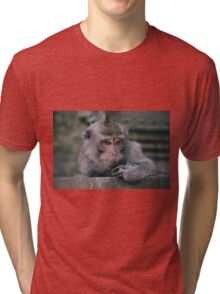 The thinker Tri-blend T-Shirt
