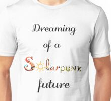 Solarpunk Future Unisex T-Shirt