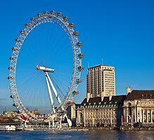 London Eye by StevenF
