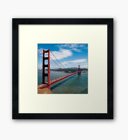 city bridge in America Framed Print
