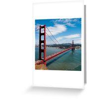 city bridge in America Greeting Card