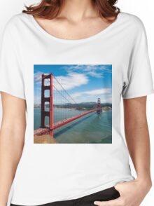 city bridge in America Women's Relaxed Fit T-Shirt