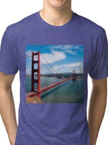city bridge in America Tri-blend T-Shirt