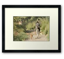 The way home .. Framed Print