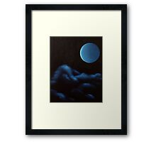 The Long Night's Moon Framed Print
