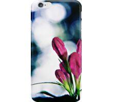Buds and Bokeh - Weigela flowers iPhone Case/Skin