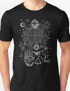 Magic Symbols for a Alchemist Dreamer Unisex T-Shirt