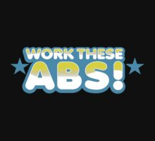 WORK these ABS Kids Tee
