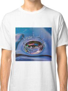 Splash of water coming down Classic T-Shirt