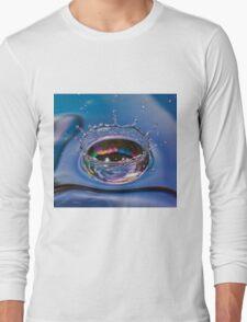 Splash of water coming down Long Sleeve T-Shirt