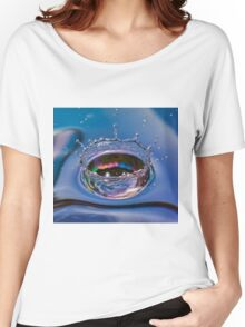 Splash of water coming down Women's Relaxed Fit T-Shirt