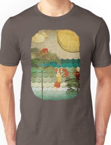 Collage of Coral Bubbles Unisex T-Shirt