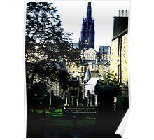 Edinburgh old town Poster