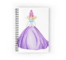 Waterlily, the princess Spiral Notebook