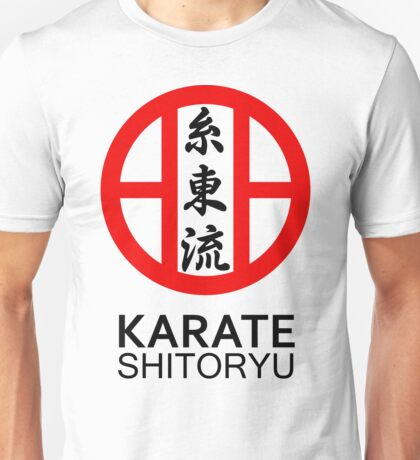 Shitoryu Karate Symbol and Kanji Unisex T-Shirt