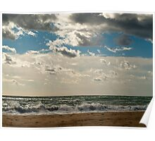 Stormy day in Spain Poster