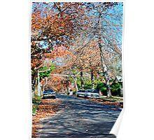 Autumn Street Poster