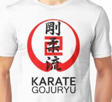 Gojuryu Karate Symbol and Kanji Unisex T-Shirt