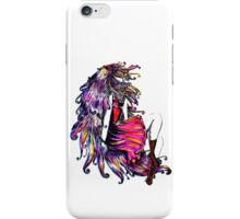 Faceless Girl & Red Doc iPhone Case/Skin