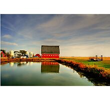 Lone Farm Photographic Print