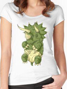 babysaurus Women's Fitted Scoop T-Shirt